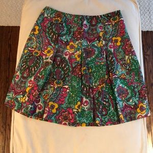 Lilly Pulitzer Paisley Skirt